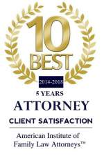 Family Law top 10 best award